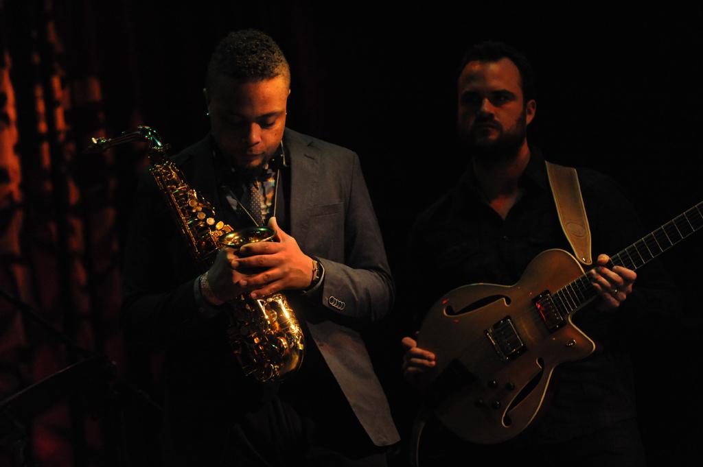 Logan Richardson,Matthew Stevens, Next Collective CD Release Party at le Piosson Rouge