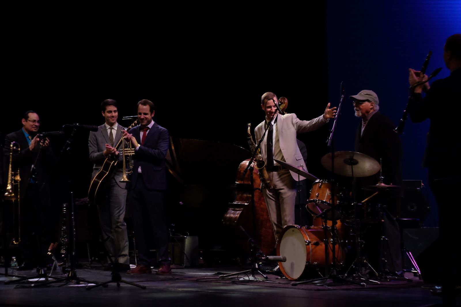 "Jack Kleinsinger Presents Highlights In Jazz ""The Millennials Meet The Masters"""