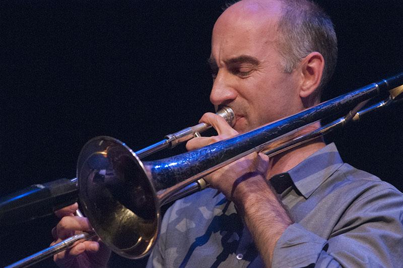 Alan Ferber, Charlie Hunter Trio