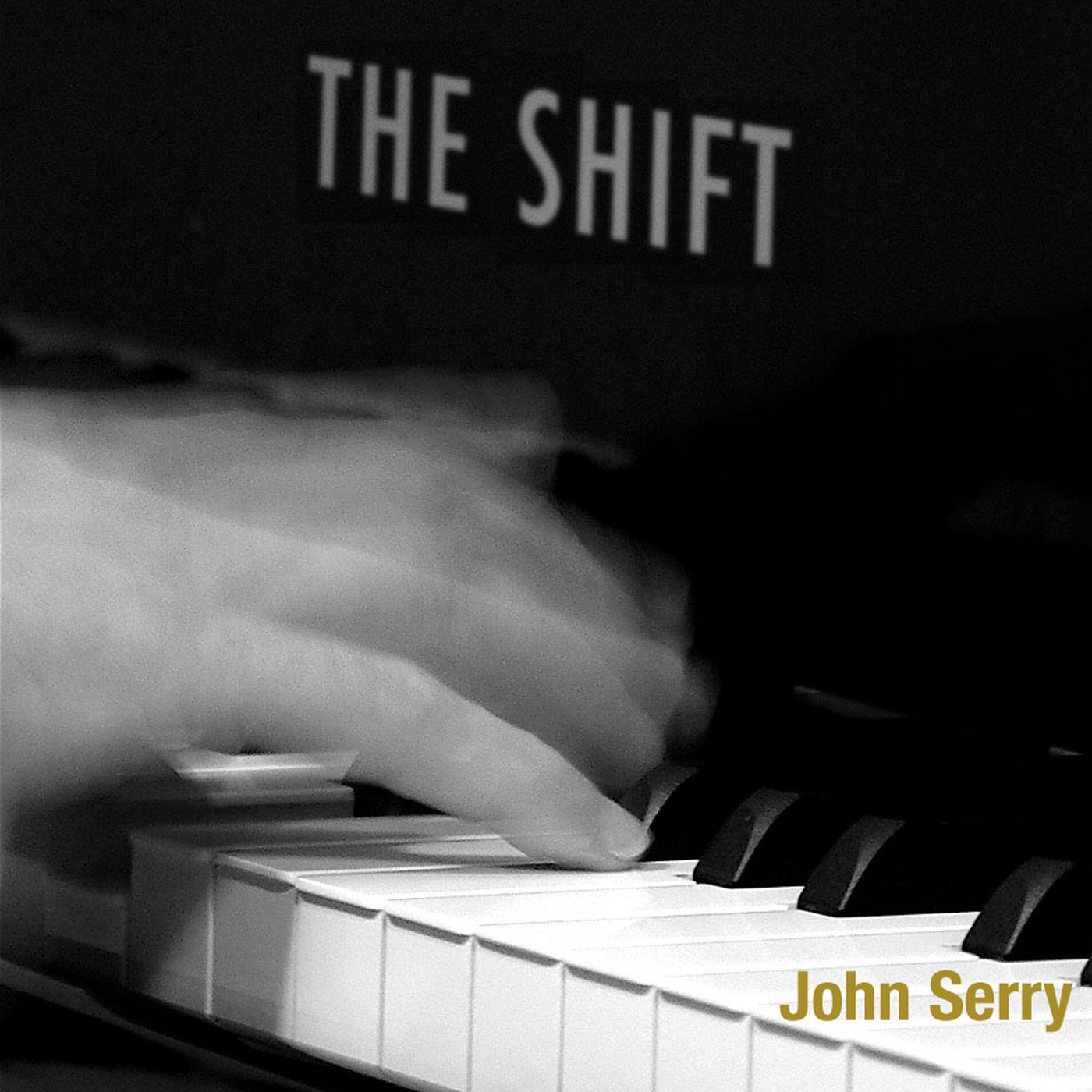 John Serry - The Shift Album Cover