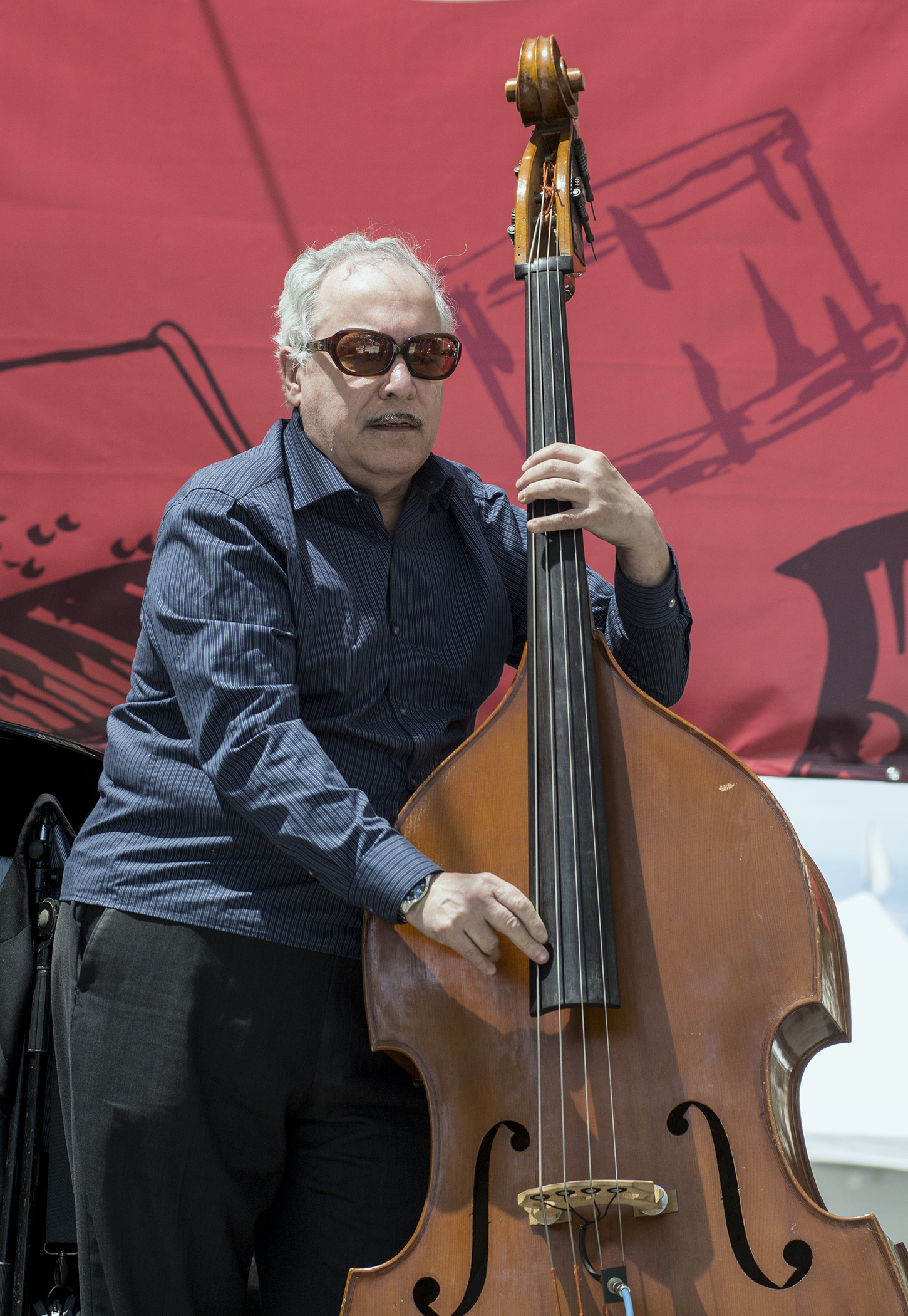 Eddie Gomez at San Jose Jazz Summer Fest 2017