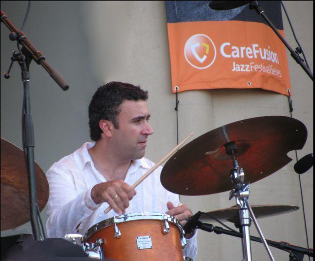 George Fludas at Chicago Jazz Fest 2009
