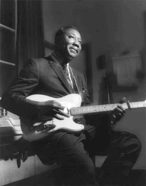 Muddy Waters, 1958, Conway Hall, London.