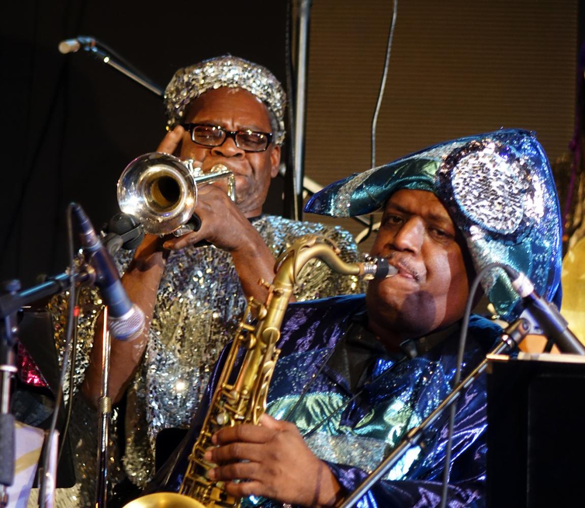 Cecil Brooks & Charles Davis at Vision Festival 21