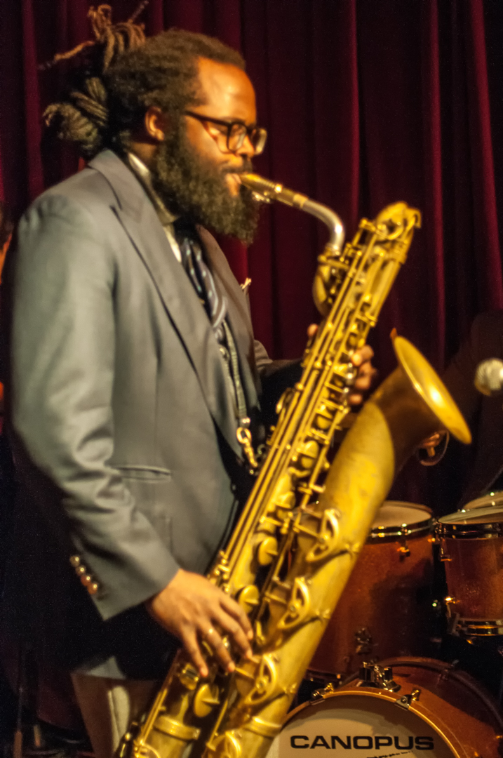Jason Marshall at the John Coltrane Festival at Smoke Jazz Club