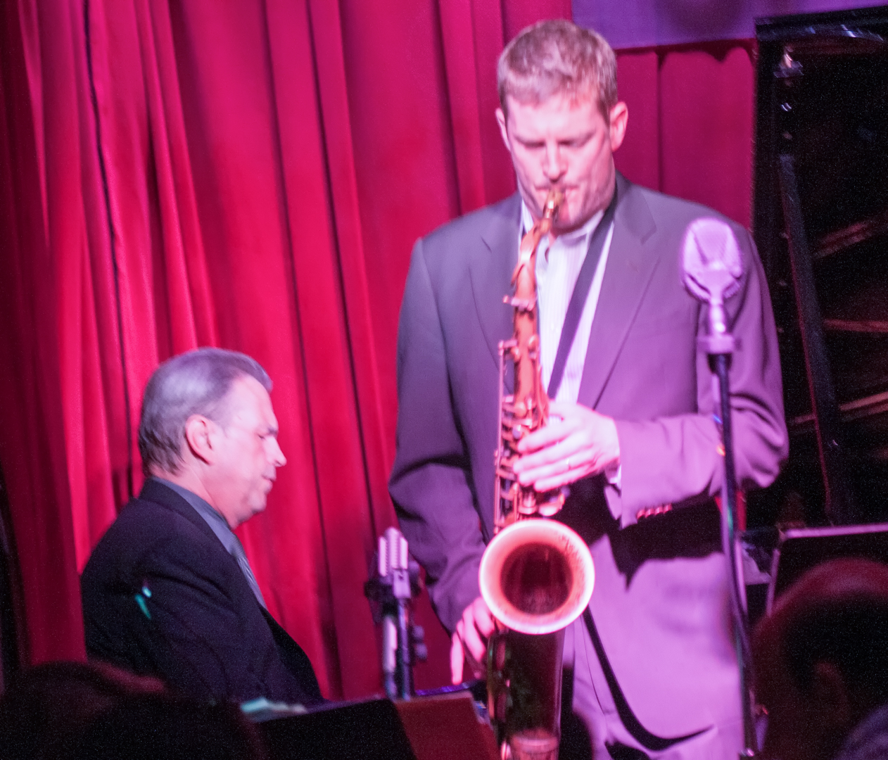 David hazeltine and eric alexander with one for all at smoke jazz club