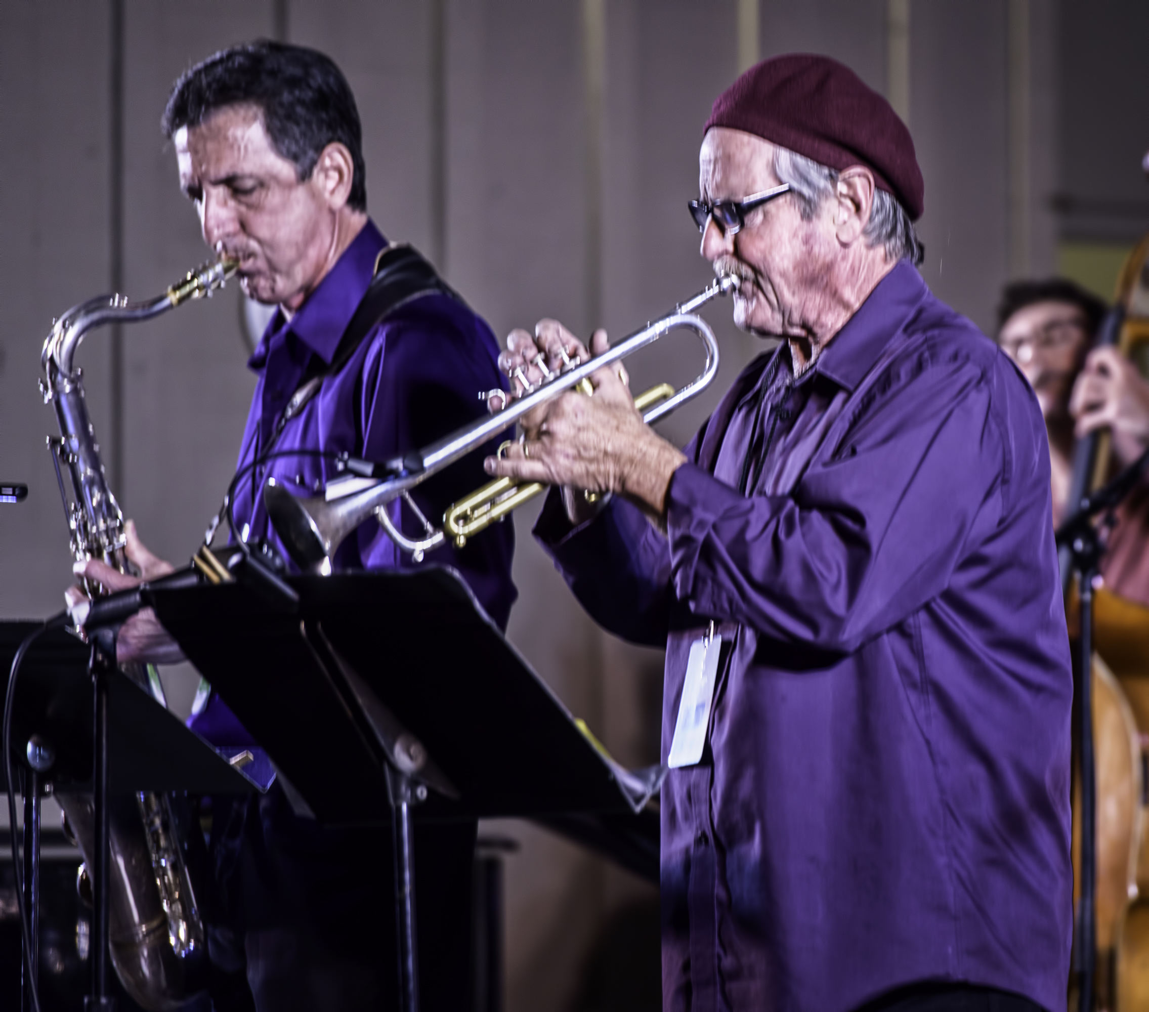 Paul Tarantino and Brian Stock with Along Came Betty at the Monterey Jazz Festival