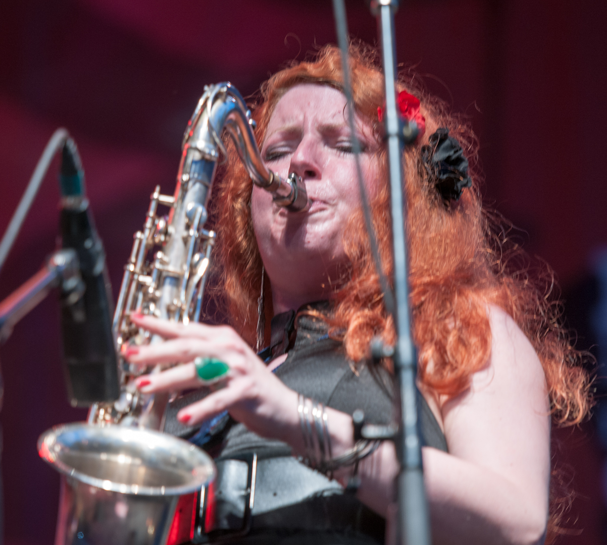 Alison Young with Tyler Yarema at the Montreal International Jazz Festival 2012