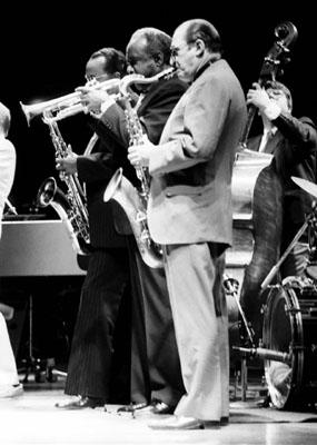 Al Cohn 0325017 Jvc-Capital Jazz Royal Festival Hall London July 1985 Images of Jazz