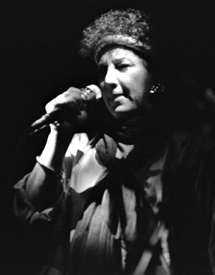 Flora Purim 0434726 Ronnie Scott's, London. 1987 Images of Jazz