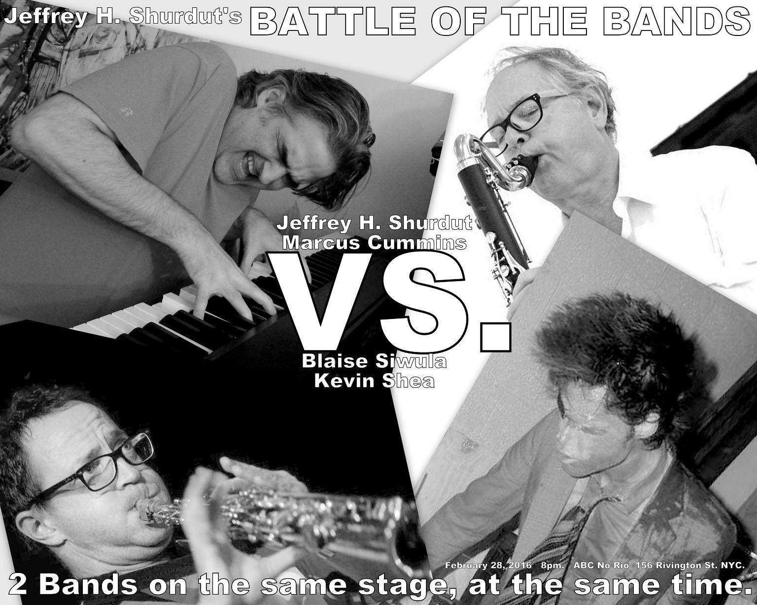 Jeffrey Hayden Shurdut's Battle of The Bands