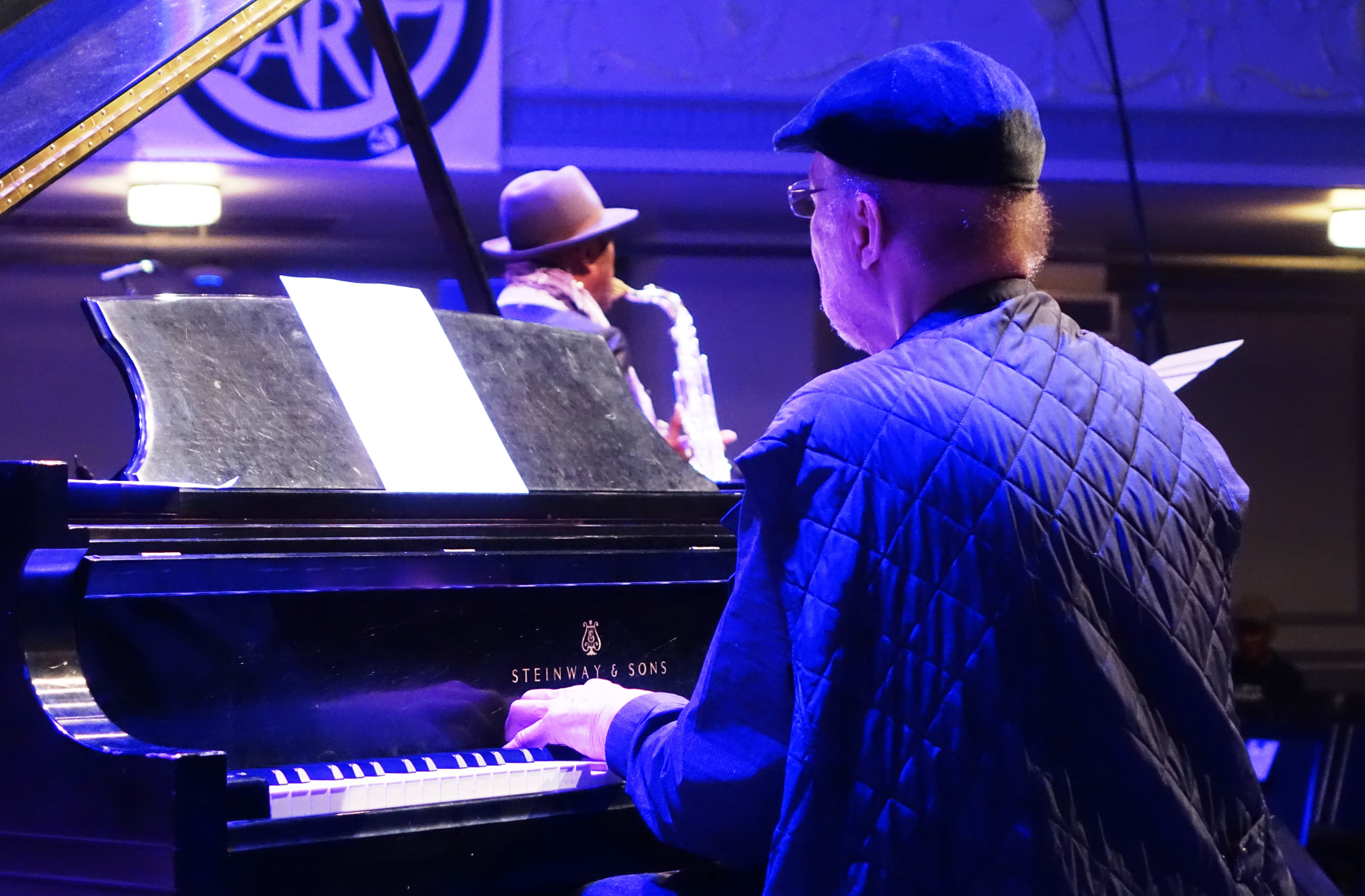Dave Burrell and Archie Shepp at Roulette, Brooklyn in May 2018
