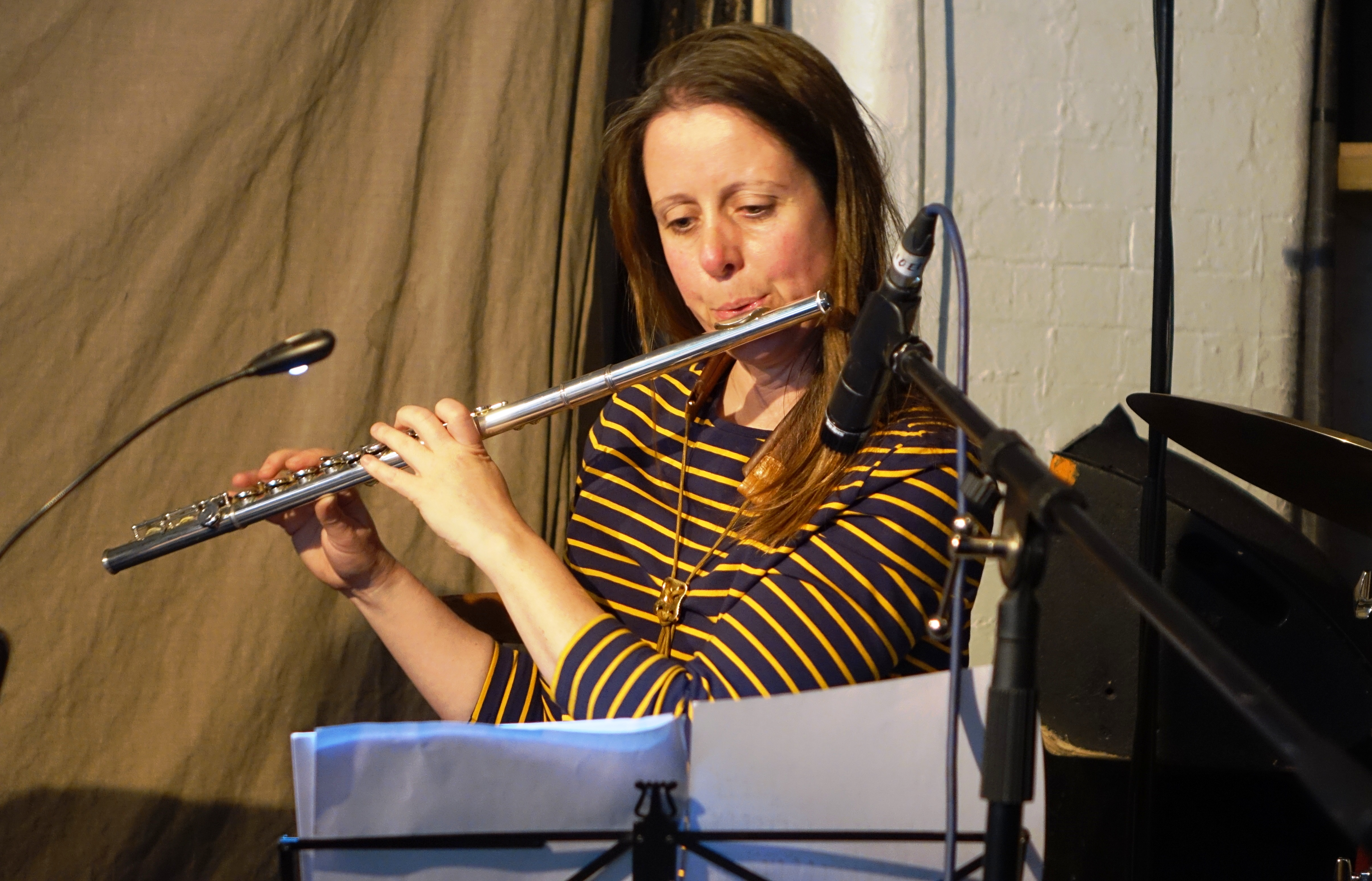 Rachel Musson at Cafe Oto, London in April 2018