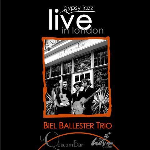 Biel Ballester Trio live recording at QuecumBar