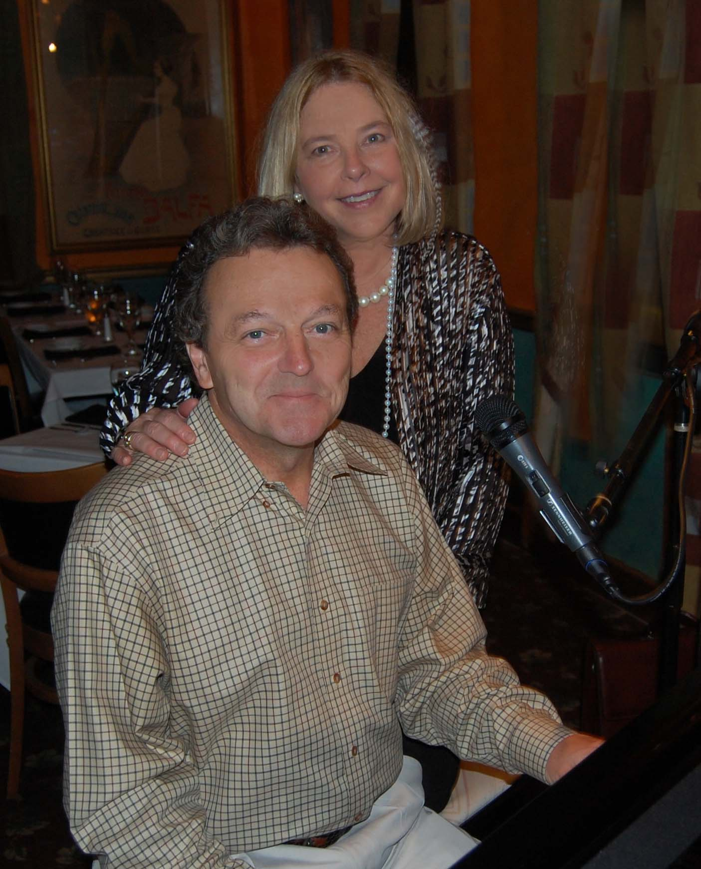 Erin Dickins with Pianist Stef Scaggiari