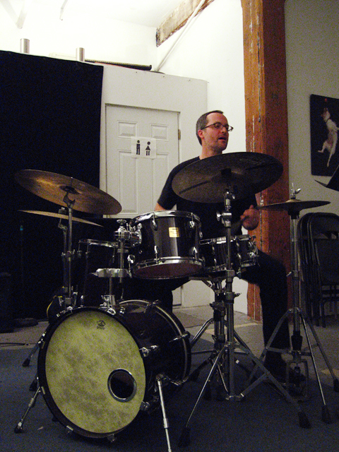 Michael Sarin with Kevin Tkacz Trio - Center for Improvisational Music 2007