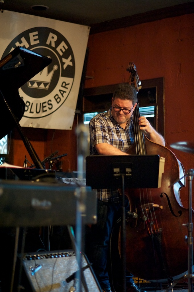 Marc Rogers with the Kelly Jefferson Quartet - The Rex - Toronto
