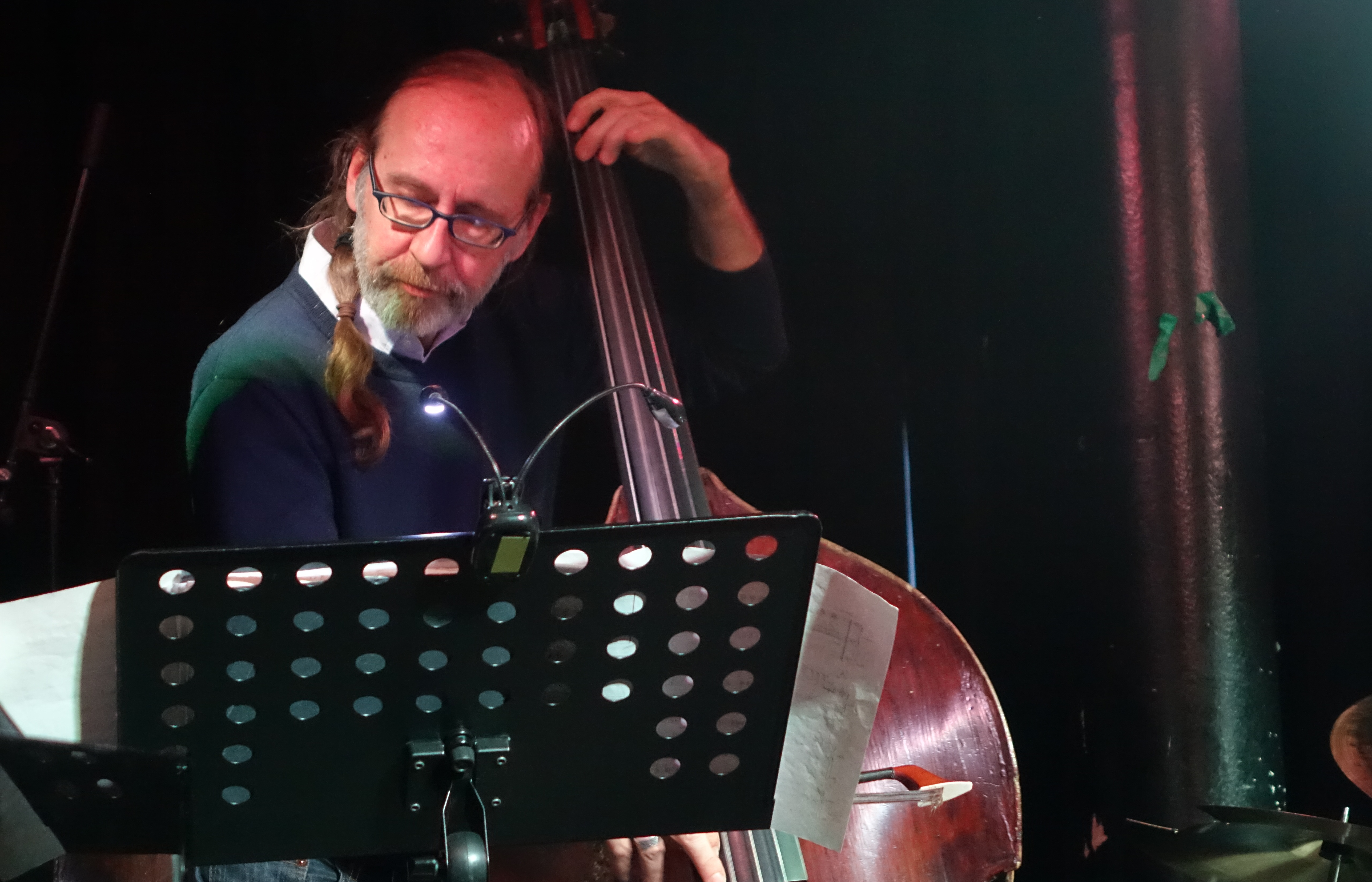 Drew Gress at the Vortex, London in May 2019