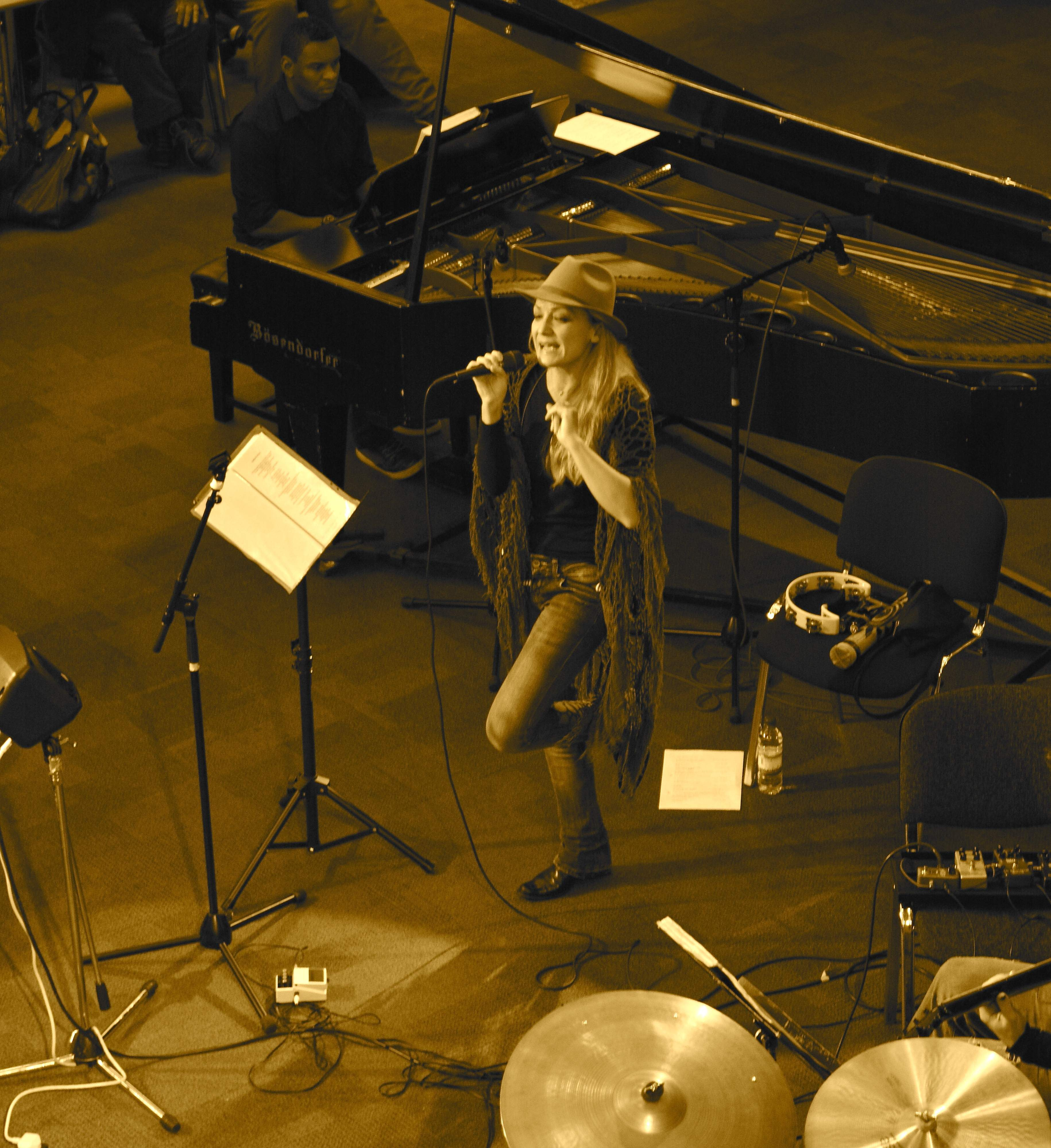 Lupa Live at Symphony Hall 2014 by Bill Shakespeare