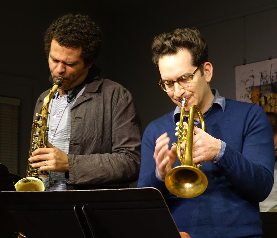 Greg Ward and Josh Berman at Edgefest 2014