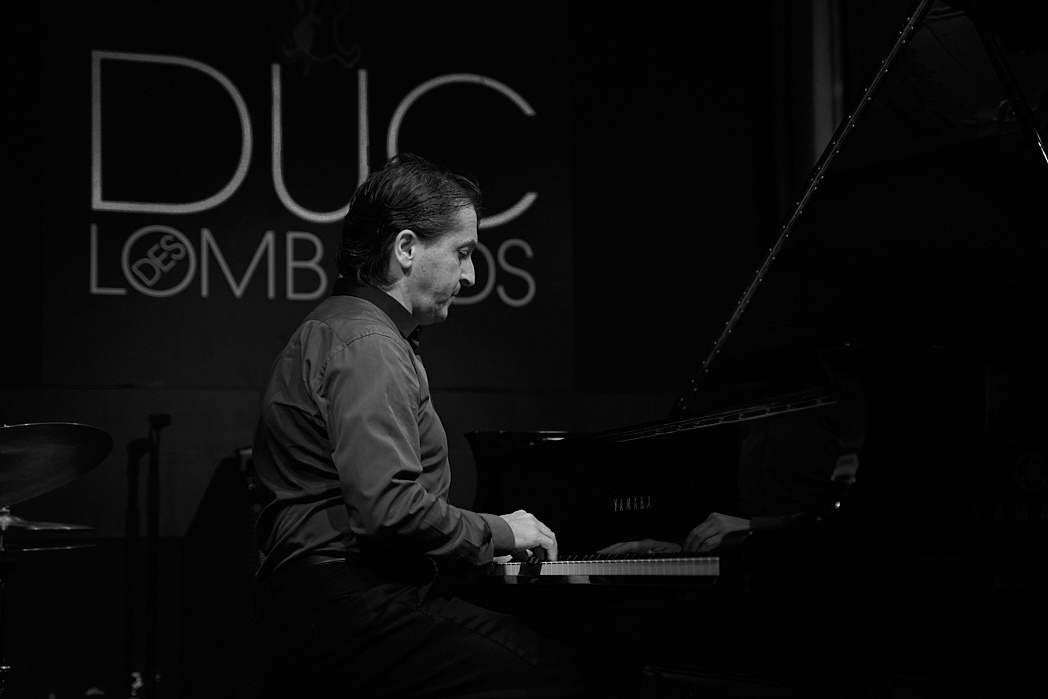 Tamir Hendelman trio rehearsal session in Paris, Sep 2019