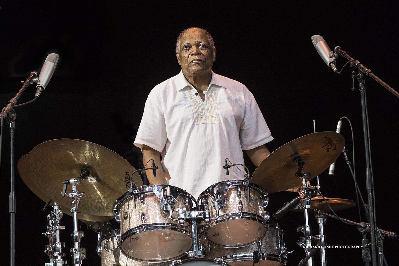Billy Hart at the Saratoga Jazz Festival