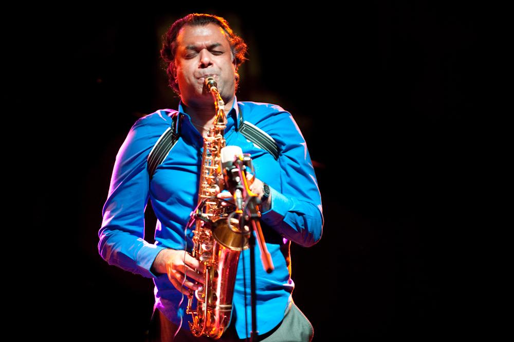 Rudresh Mahanthappa Samdhi at the Barcelona Jazz Festival
