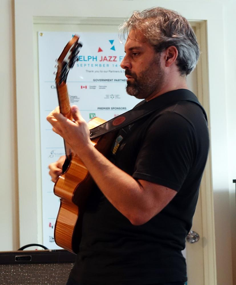 Gordon Grdina At Guelph Jazz Festival 2016