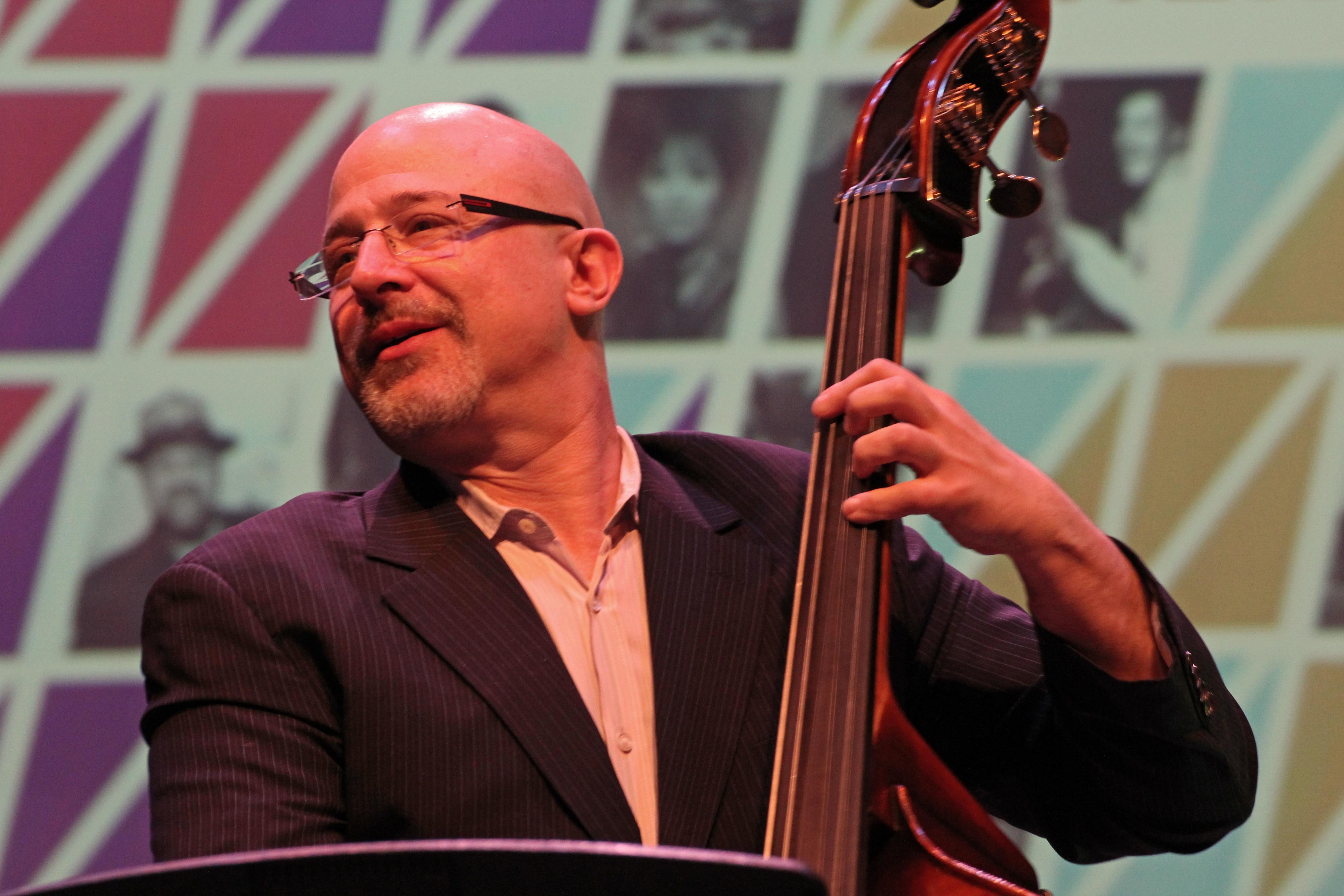Ben wolfe at tri-c jazzfest cleveland 2013
