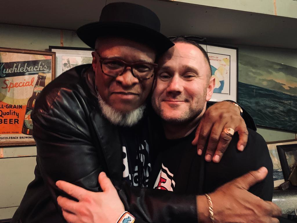 Sylwester Ostrowski with Bobby Watson in Kansas City at the Ship