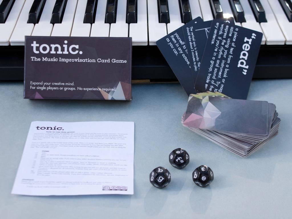 Tonic: The Music Improvisation Card Game