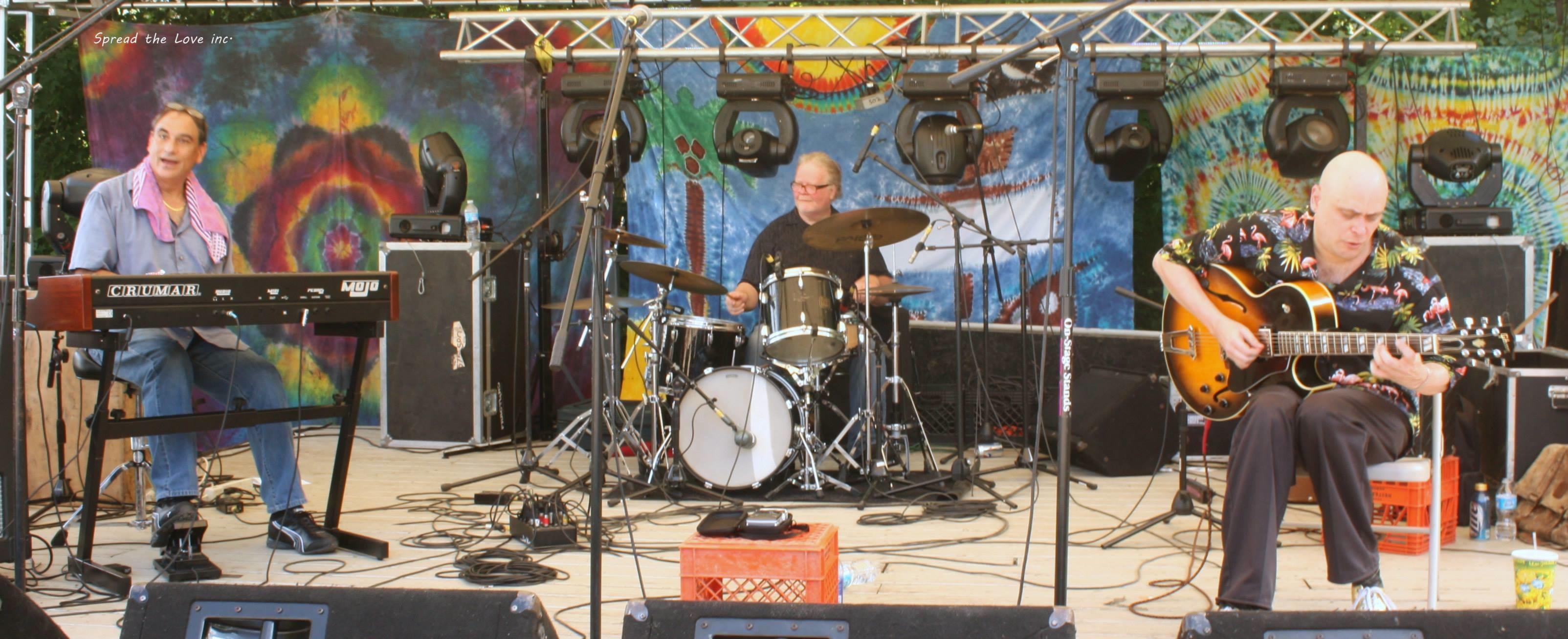 Bob , tony monaco , and joe ong , at nelson ledges quarry park , gratefulfest ...