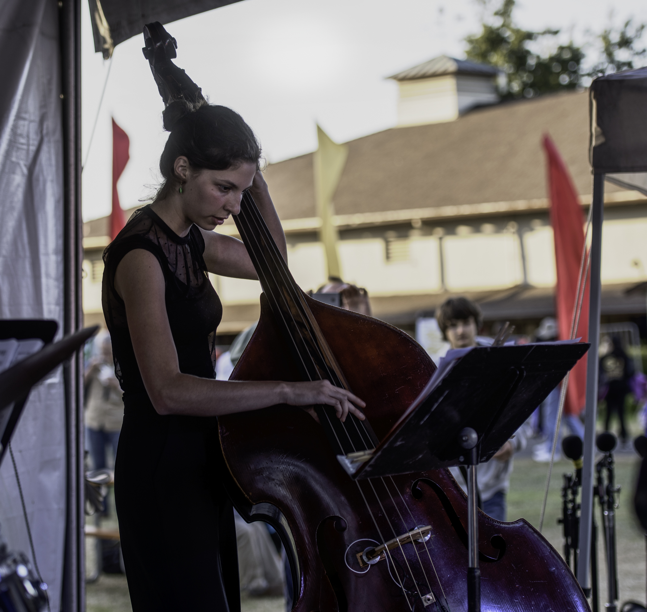 Anna Abondolo with the Next Generation Jazz Orchestra at the Monterey Jazz Festival