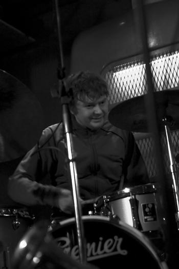 Paul Wirkus of Mikolaj Trzaska Trio - Gdansk in Nov. 2005