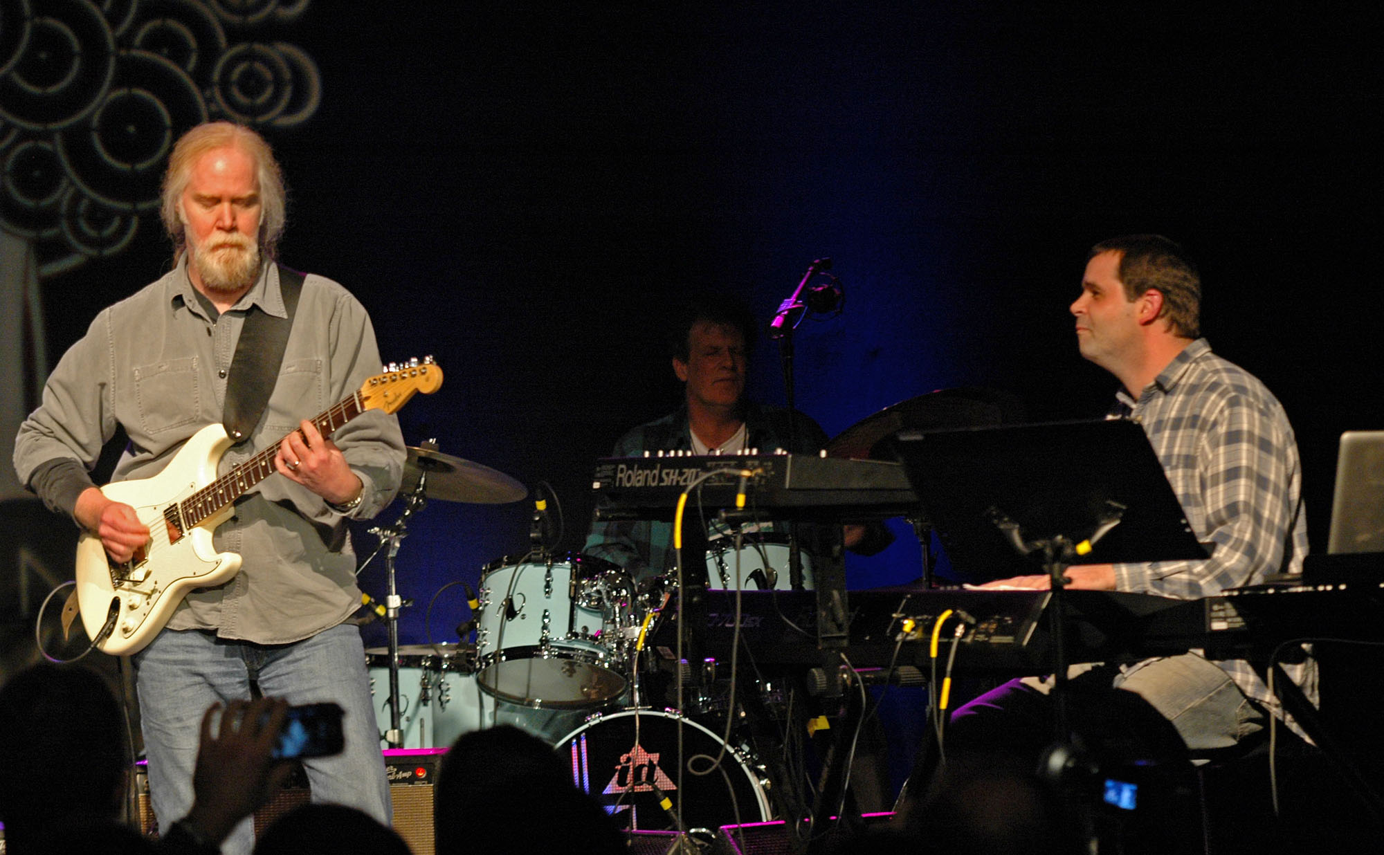 Jimmy Herring, Gary Husband and Matt Slocum, Performing in the John McLaughlin Tribute at the 2010 New Universe Music Festival