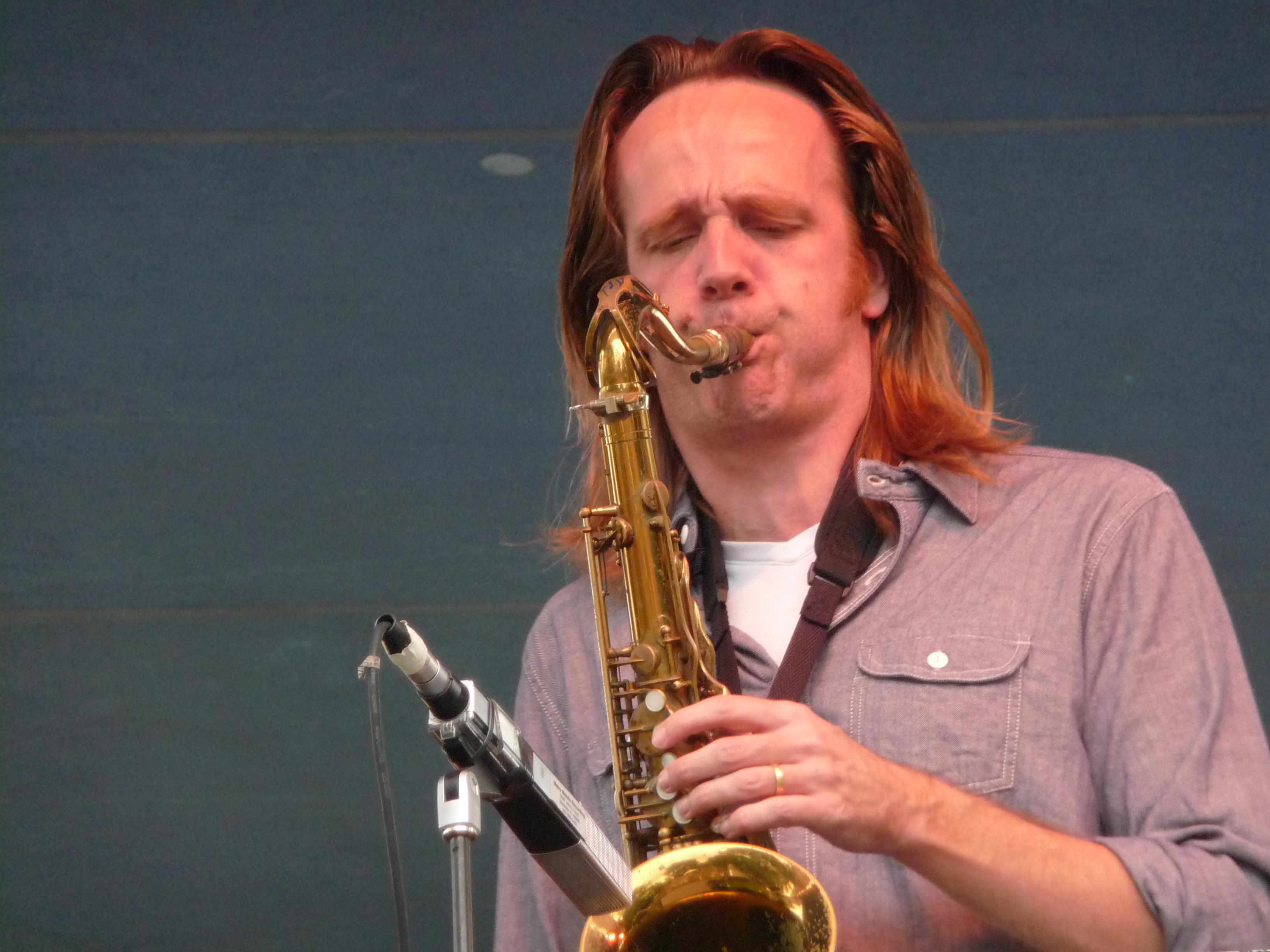 Marc Mommaas at Detroit Jazz Festival