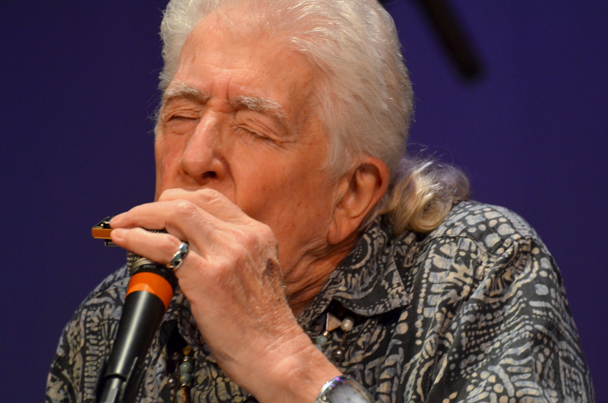 John Mayall at the Ymca Boulton Center in Bay Shore on 9-19-14.