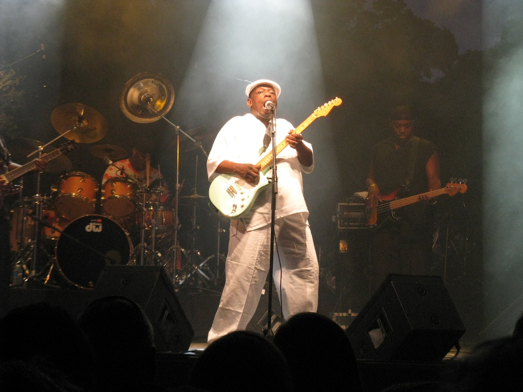 Lucky Peterson at Nice Jazz Festival