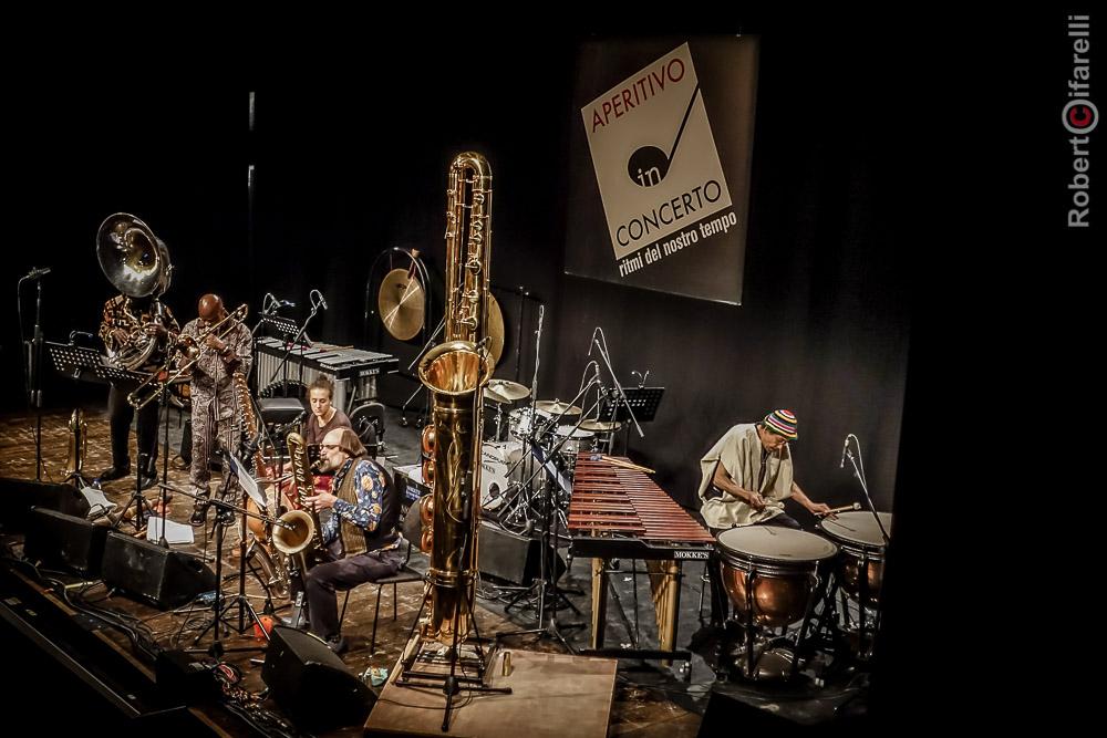 Joe Daley Tuba Trio With Guests - Aperitivo In Concerto, Teatro Manzoni, Milan, Italy - 22 January 2017