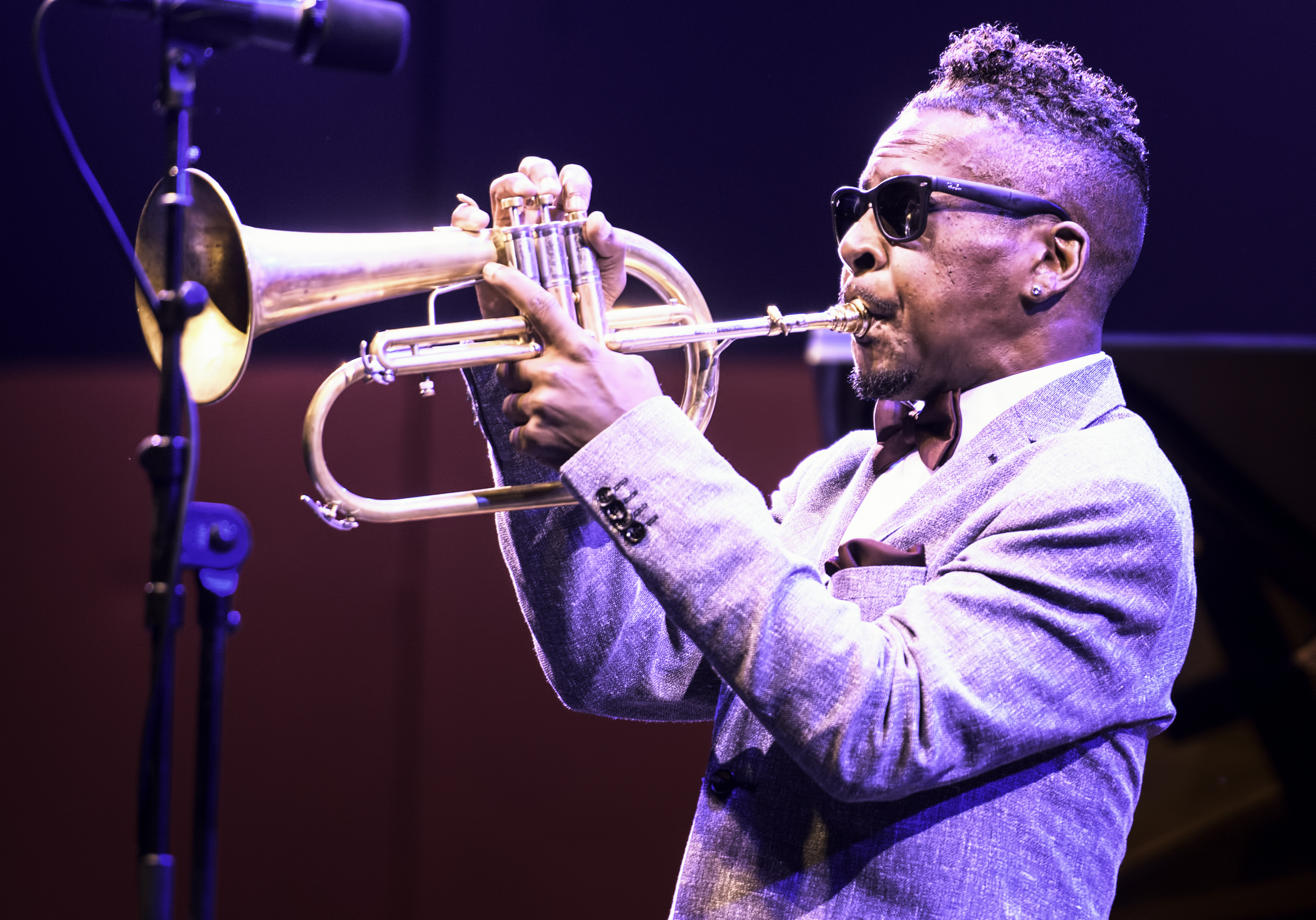 Roy Hargrove with Kenny Baron's Tribute to Dizzy at 100 at the Monterey Jazz Festival