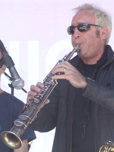 Mars Williams with Paul Giallorenzo's GitGo at 2010 Chicago Jazz Festival