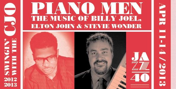 Piano Men: The Music of Billy Joel, Elton John & Stevie Wonder