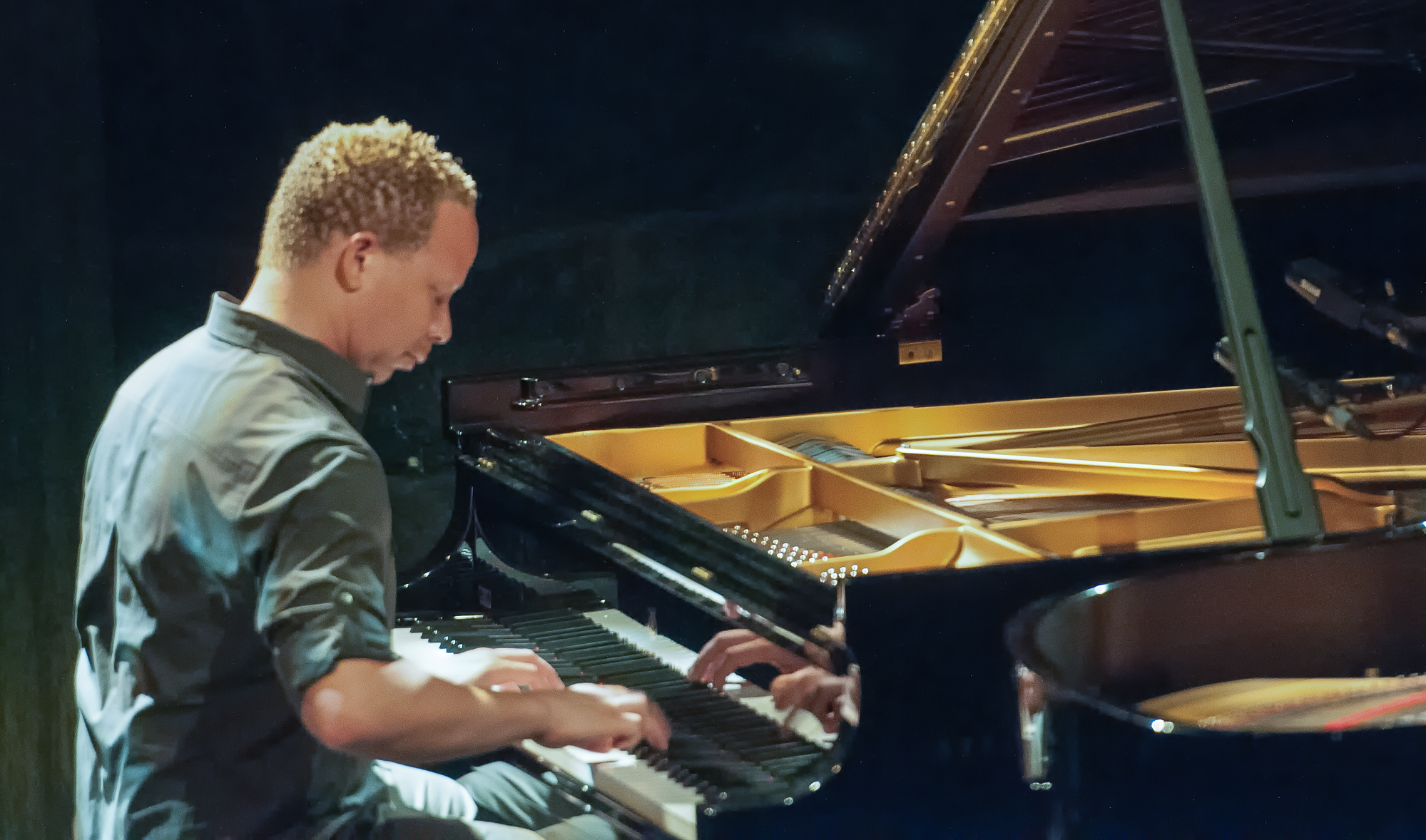 Craig taborn in duet with vijay iyer at the montreal international jazz festival 2013