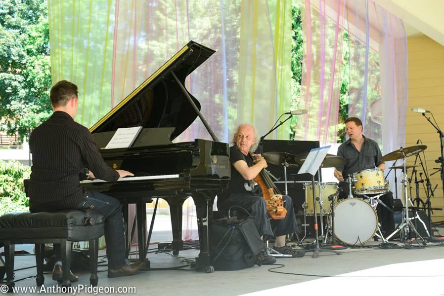 David Friesen, Circle 3 Trio, Vancouver Wine Jazz Festival, 2014
