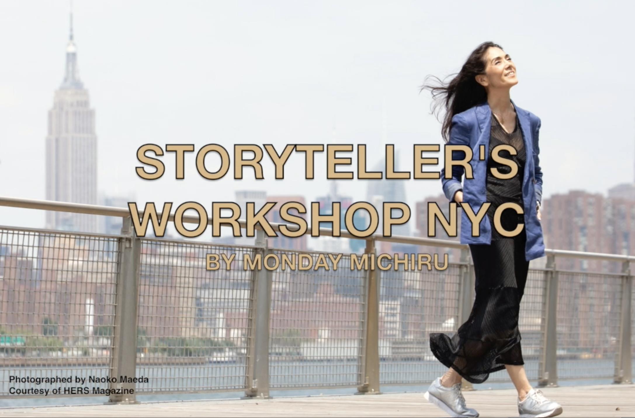 Storytellers Workshop NYC