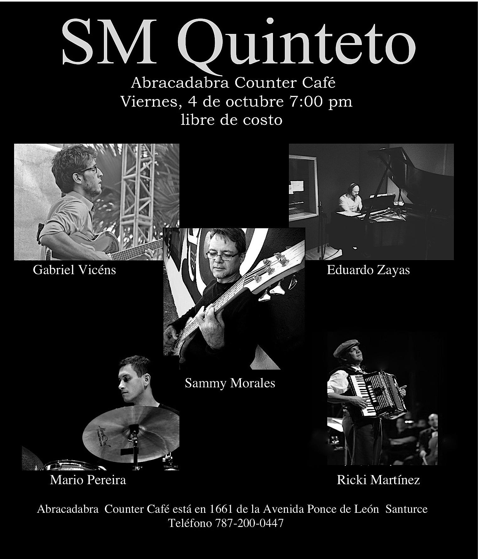 Sm quinteto @abracadabra counter café