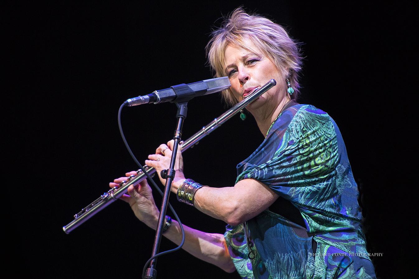 Jane Bunnett at the Freihofer Saratoga Jazz Festival 2017