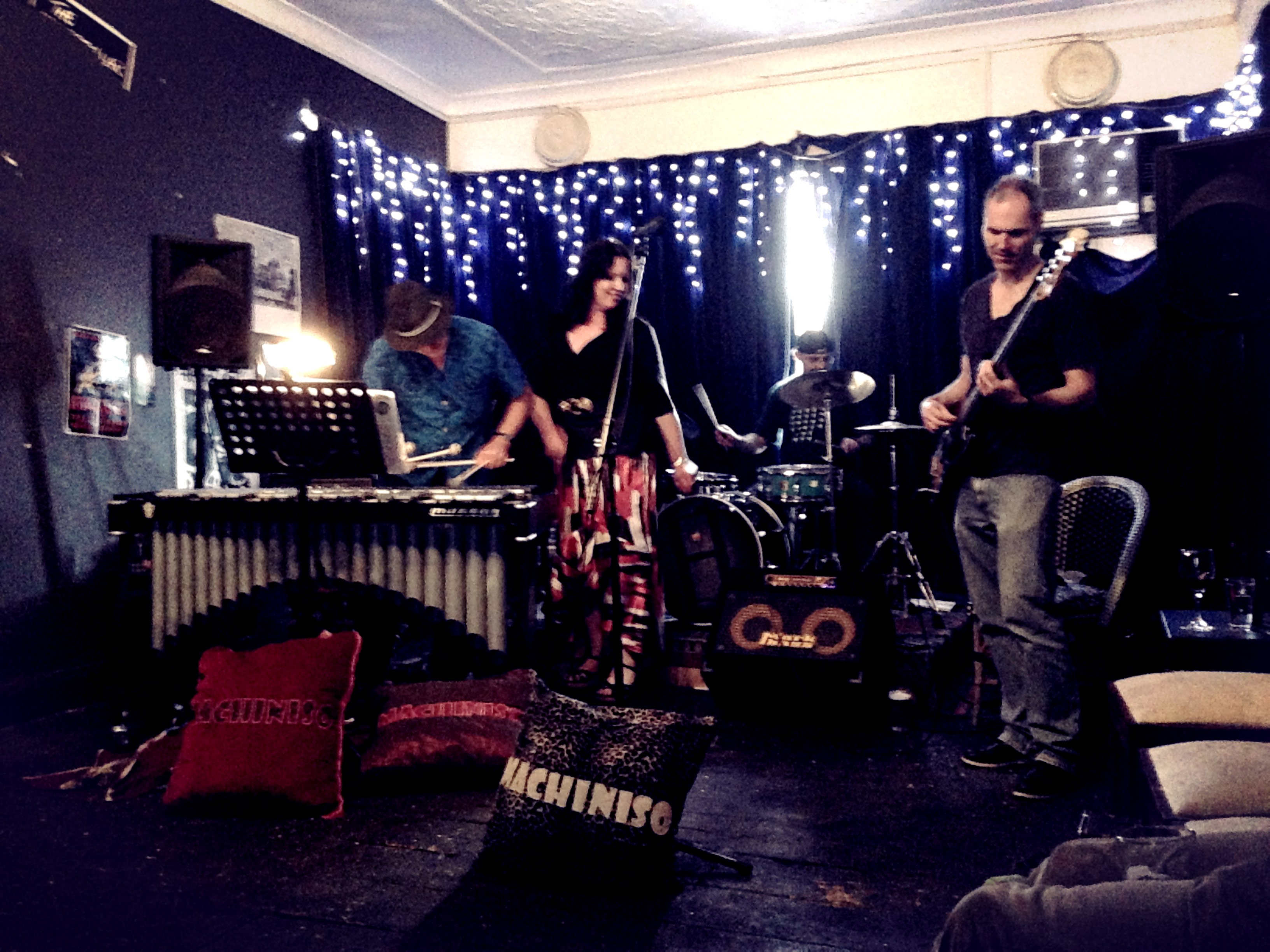 Machiniso at the Record Crate, Glebe, Sydney, 16 Nov 2014