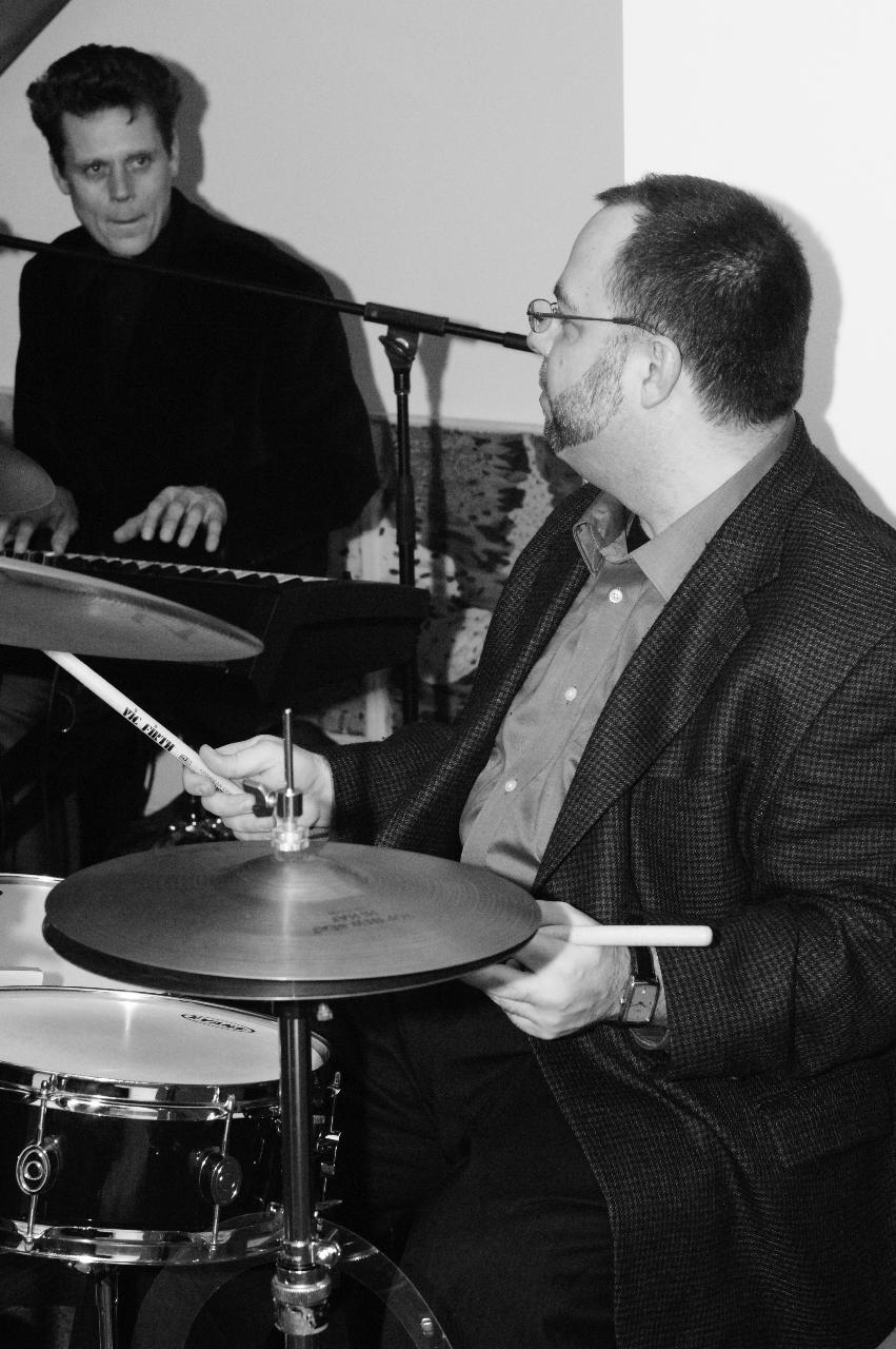 John Armato with Bram Wijnands