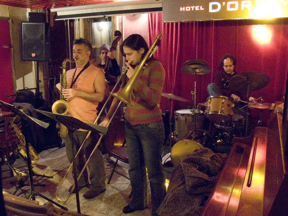 Adam Lane Quartet with Reut Regev, Avram Fefer, Igal Foni - Barbs 2007